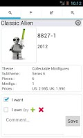 Screenshot of Brick collector
