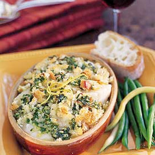 Scallop Gratins with Garlic-Lemon Butter.