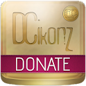 DCIkonZ Donate Gold icon