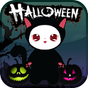 Lily Kitty Halloween Live WP icon