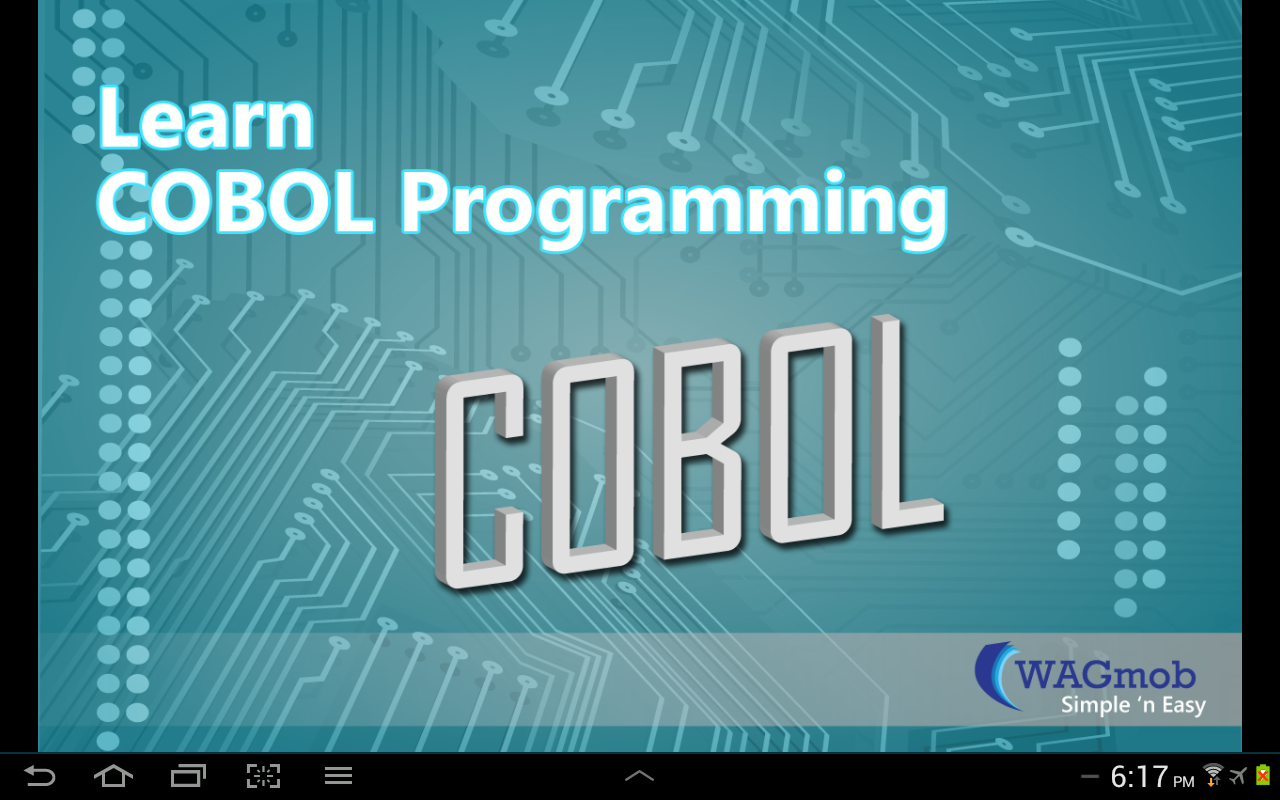Cobol Programming By Wagmob