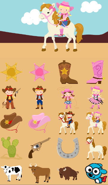 Cowboy Games For Kids