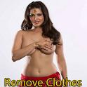 Remove clothes 2 Sunny leone icon