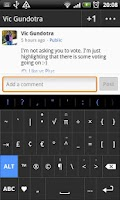 Screenshot of Plus - HD Keyboard Theme