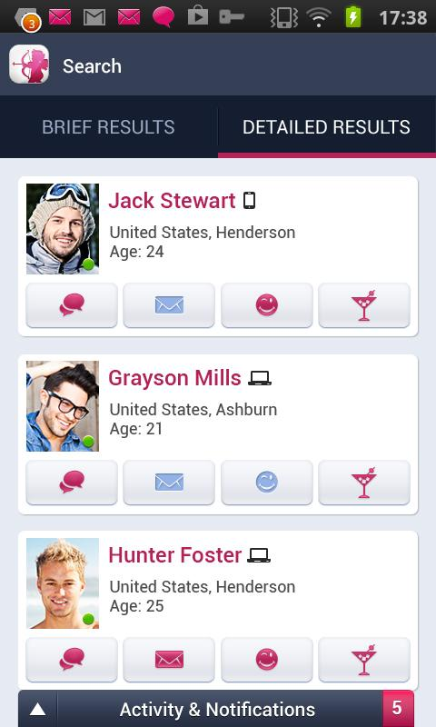 Cupid.com - Dating for singles - screenshot