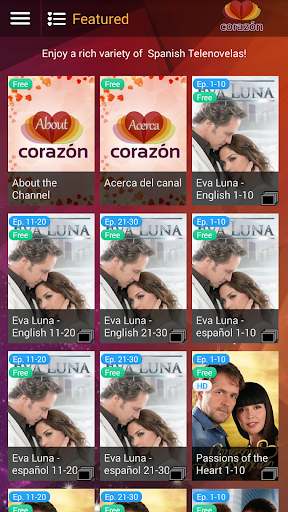 Corazon - Telenovela Channel