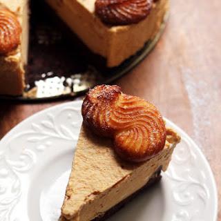 Pumpkin Mousse Cruller Black-Bottomed Tart