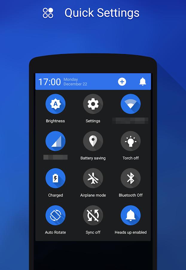 Flux - CM11/Pa Theme - screenshot