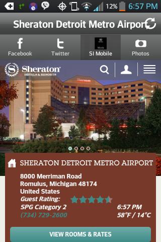 Sheraton Detroit Metro Airport