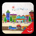 paper town Theme icon