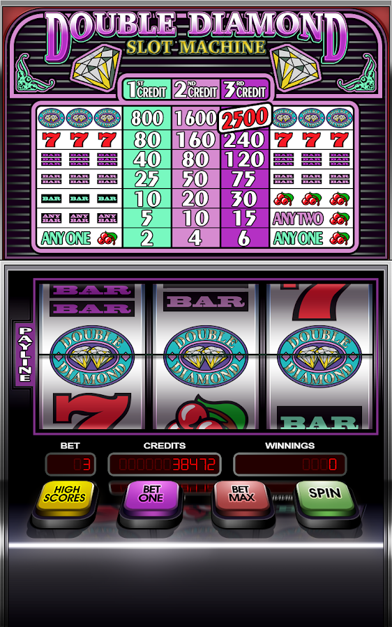 slot machines double diamond