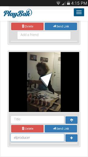 PlayBak Lite - Video Sharing