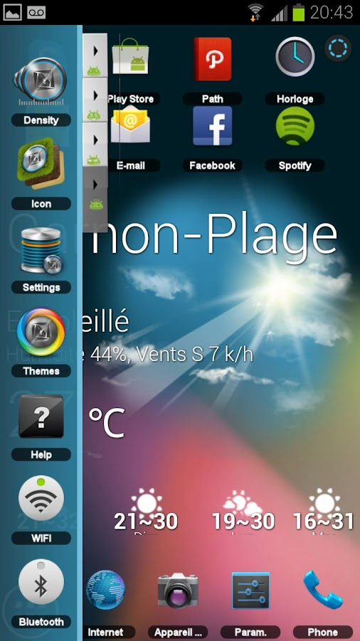 TSF-Shell Theme Jelly Bean - screenshot