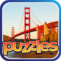 Famous Bridges Puzzles - Free icon