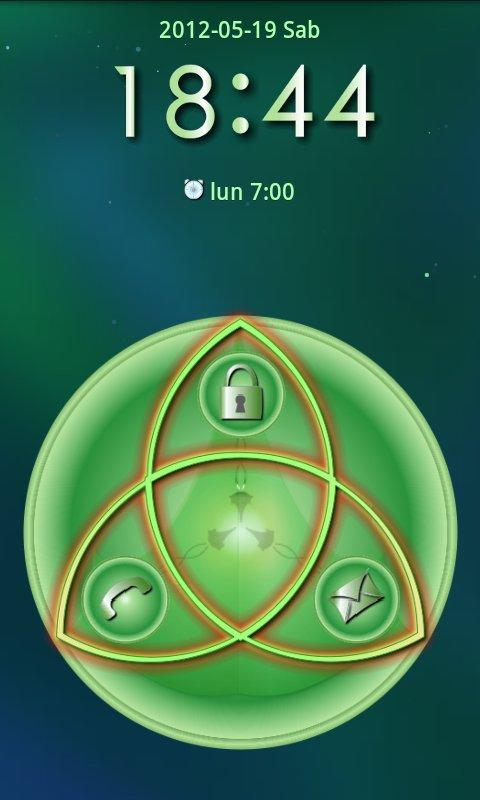 Celtic Go Locker Theme - screenshot
