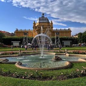 King Tomislav Square by Zlatko Gašpar - City,  Street & Park  City Parks