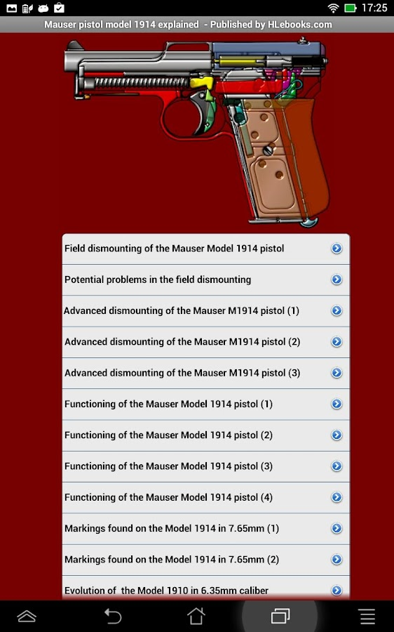 Mauser pistol M1914 explained- screenshot