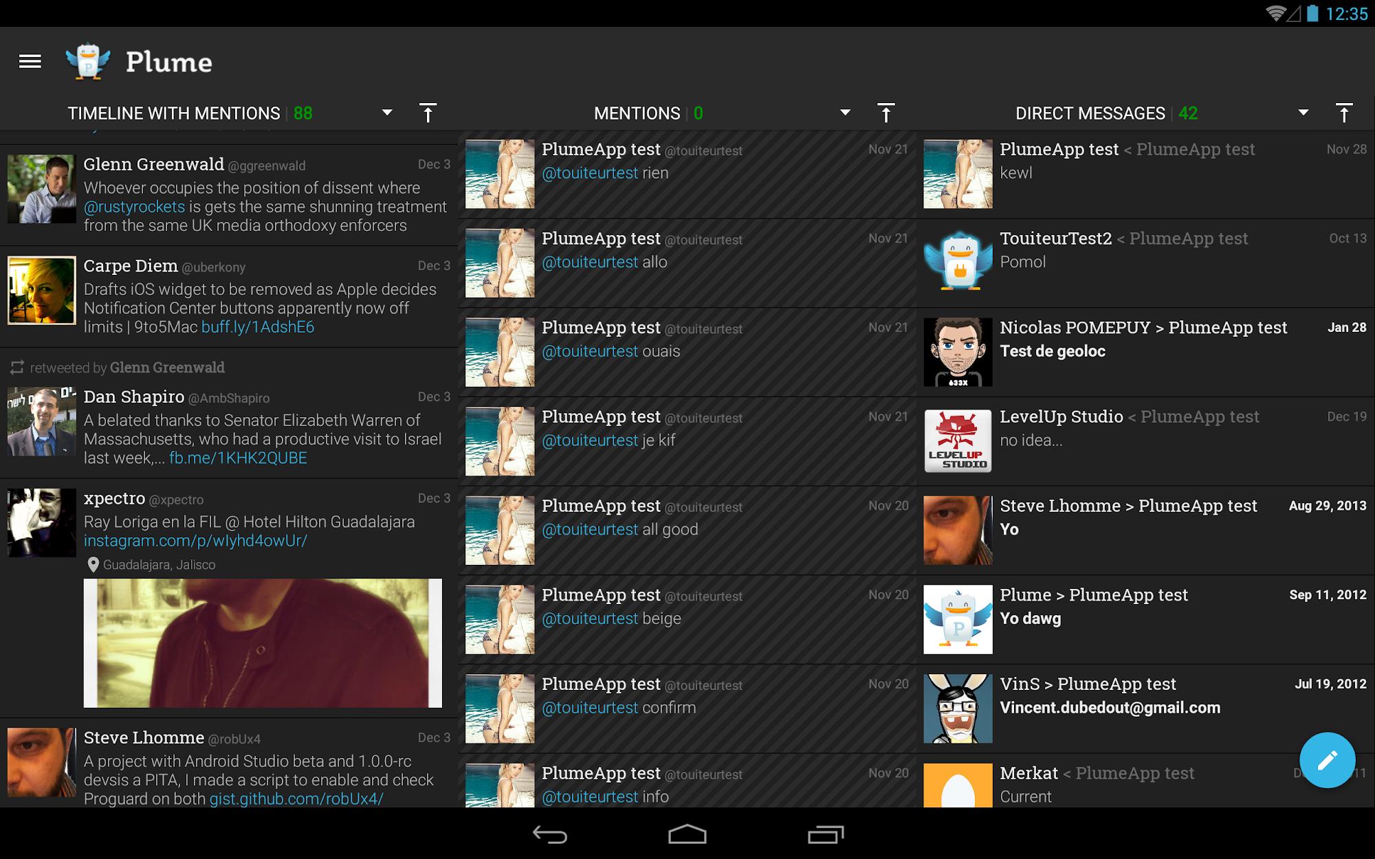 Plume for Twitter screenshot #7
