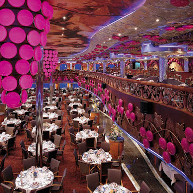 Carnival Dining Room Open For Lunch