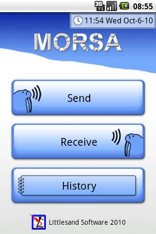 Morsa - screenshot
