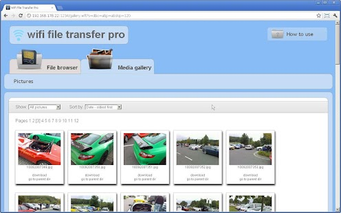 WiFi File Transfer Pro- screenshot thumbnail