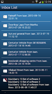 AfriGIS Navigator - screenshot thumbnail