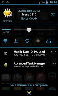 CM10.1 cm10 AOKP Theme X-Blue - screenshot thumbnail