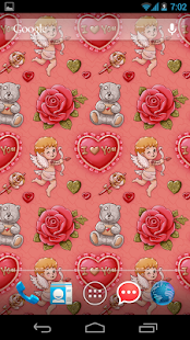 I Love You: wallpaper & theme- screenshot thumbnail