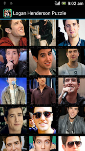 Logan Henderson Puzzle Game - screenshot thumbnail