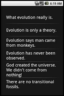 EVOLUTION FACTS - screenshot thumbnail