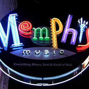 Memphis Music by Paul Hopkins - Artistic Objects Signs (  )