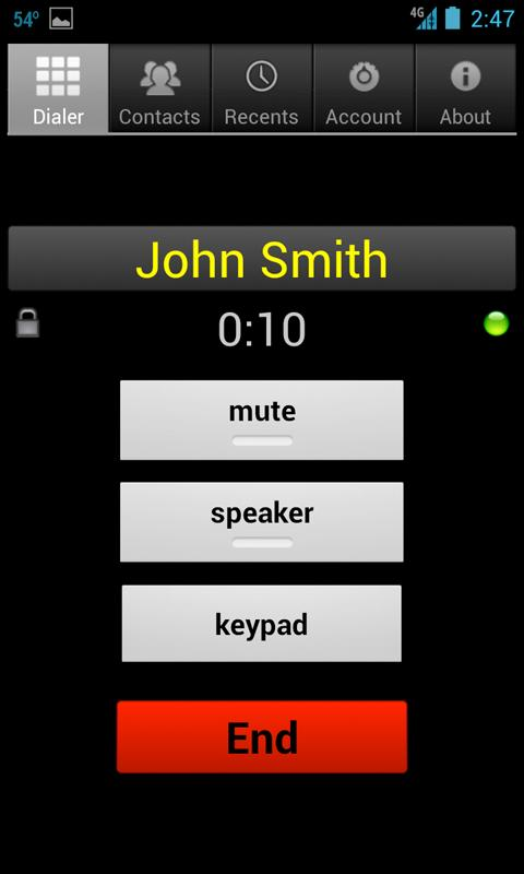 Whistle Phone - screenshot