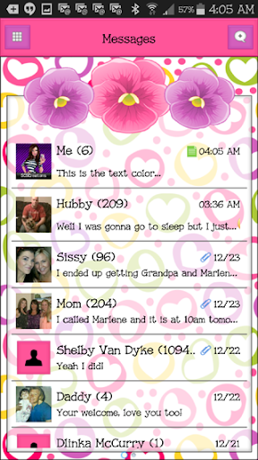 GO SMS THEME - SCS439