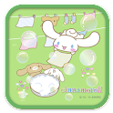 Cinnamoroll EnjoyWashing Theme icon