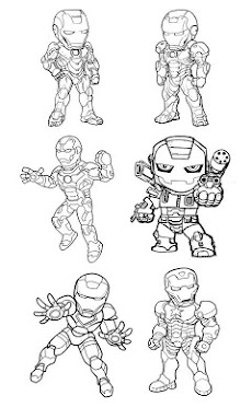 Paint Iron Man HDのおすすめ画像2