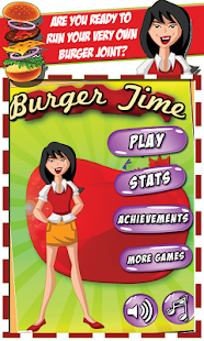 Burger Time - screenshot thumbnail