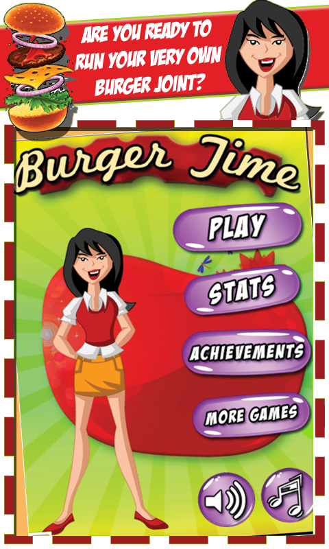 Burger Time - screenshot