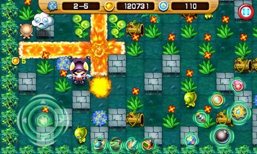 Bomber Man - The Jungle Hero - screenshot thumbnail