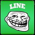 RageTrollFace Sticker for LINE icon