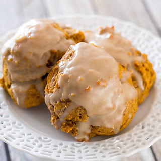 ALICE'S TEA CUP PUMPKIN SCONES