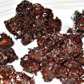 Chocolate Nut Clusters.
