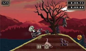 Screenshot of Zombie Rider