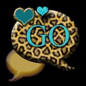GO SMS THEME/GoldCheetah4U