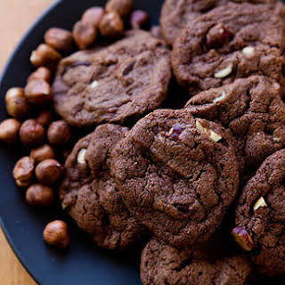 Chocolate Nutella Cookies.