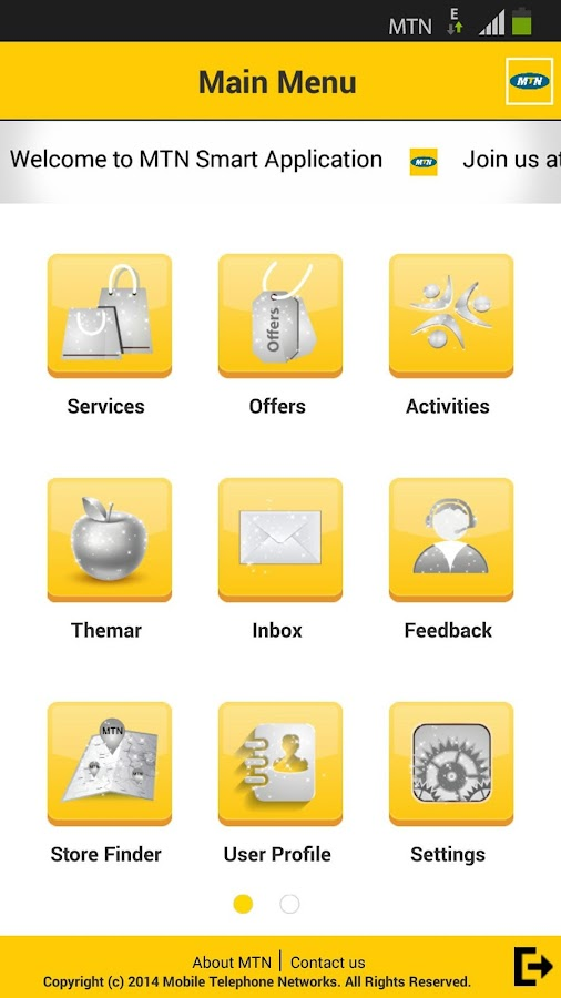 MTN Yemen- screenshot