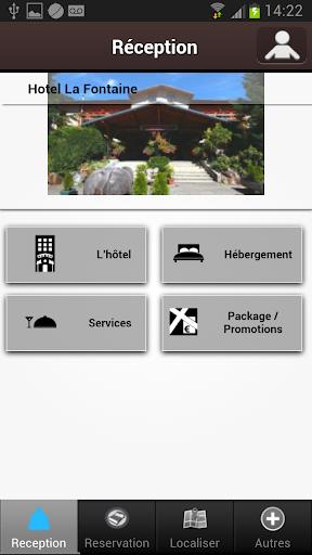 【免費旅遊App】Hôtel la Fontaine-APP點子