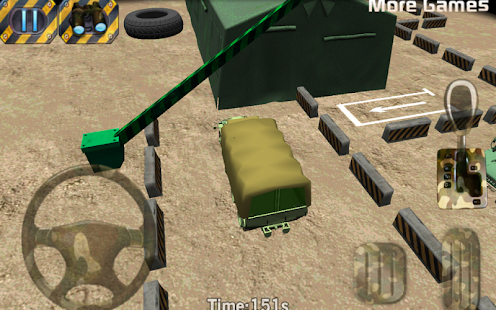 Army-parking-3D-Parking-game 2