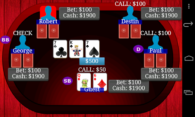Poker - Texas Holdem Dim - screenshot