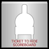 Ticket to Ride Scoreboard