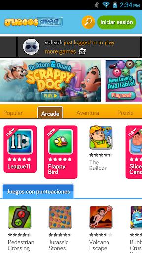Juegos Area Launcher